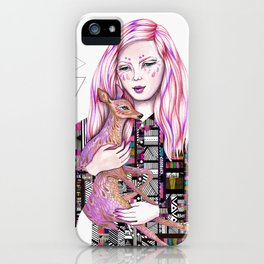EMBRACE by Kris Tate and Ola Liola  iPhone Case