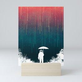 Meteoric rainfall Mini Art Print