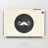 moustache iPad Cases featuring moustache by StudioAmpersand