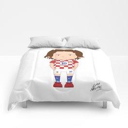 Luka Modrić - Croatia - World Cup 2014 Comforters