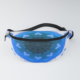 All things with wings (blue) Fanny Pack