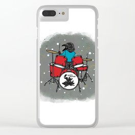 Flock of Gerrys Meet Salty Raven! Clear iPhone Case