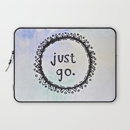 puerta project: just go  Laptop Sleeve