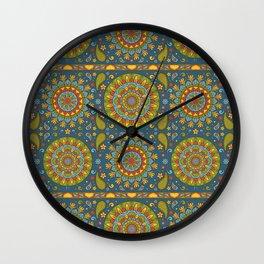 Boho Pattern 1 Wall Clock