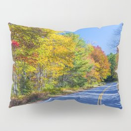 New Hampshire country road Pillow Sham