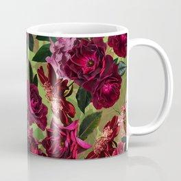 Vintage & Shabby Chic - Botanical Roses Summer Garden   Coffee Mug