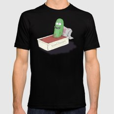 Pickle Dipping Black MEDIUM Mens Fitted Tee