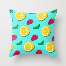 Fruit Party #society6 #decor #buyart Throw Pillow