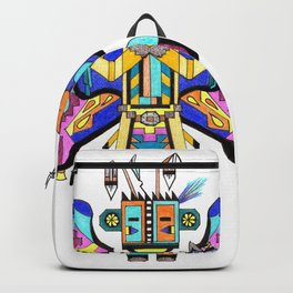 Kachina Butterfly 4 Backpack