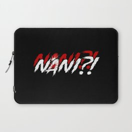 Nani Omae Wa Mou Shindeiru Meme Anime Gift Laptop Sleeve