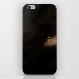 Troubled eye iPhone Skin