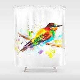 Merops Apiaster Shower Curtain