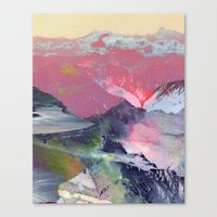 tchmo Canvas Prints featuring Untitled 20100401 (Landscape) by tchmo