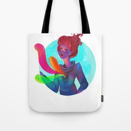 My Doubts are pretty Colorful Tote Bag