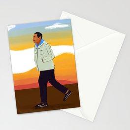 Keep Walking  Stationery Cards