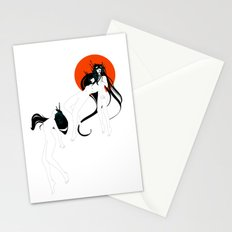 The Chameleon: Untitled#8 Stationery Cards