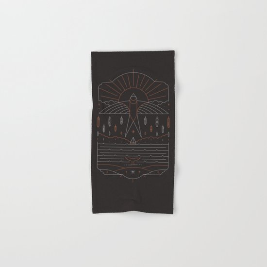 The Navigator Hand & Bath Towel