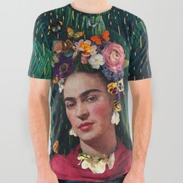 Frida Kahlo :: World Women's Day All Over Graphic Tee