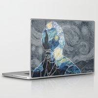 van gogh Laptop & iPad Skins featuring Van Gogh by NotNorrah
