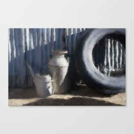Water Can Canvas Print