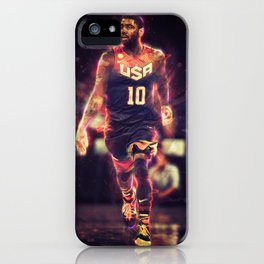 Kyrie Basketball Poster iPhone Case