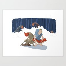 henon adventure Art Print