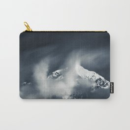 Darkness and chaos over the mountain Carry-All Pouch
