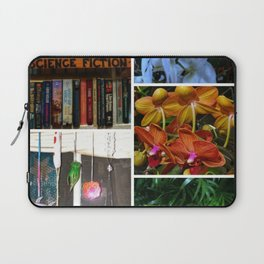 Floral Collage Laptop Sleeve