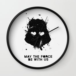 may the force be with us Wall Clock