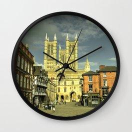 Lincoln Exchequergate Wall Clock