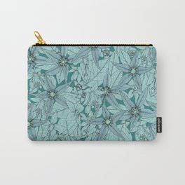 deadly nightshade teal Carry-All Pouch