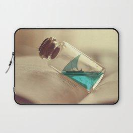 Boat in a bottle Laptop Sleeve