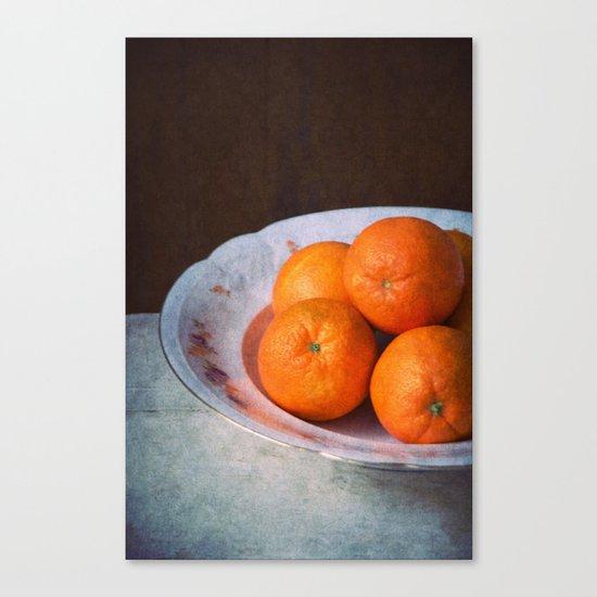 orange time Canvas Print
