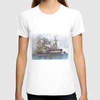 boats T-shirts featuring Boats by Marine Koprivnjak