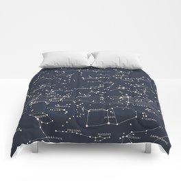 Carte du Ciel I Comforters