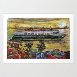 Cruise Magic Art Print