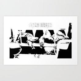 Love Seat Art Print