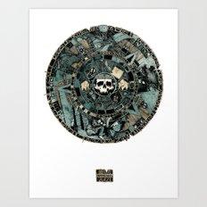 Calender Art Print
