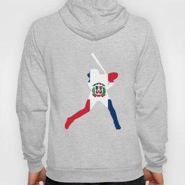 Dominican Republic Baseball Flag TShirt Hoody