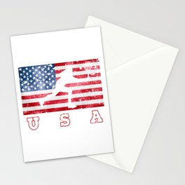 USA Tennis - Flag of America Stationery Cards