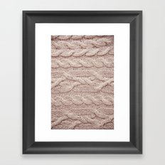 sweater Framed Art Print