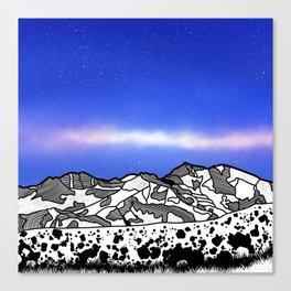 Mount Snowdon Wales Canvas Print