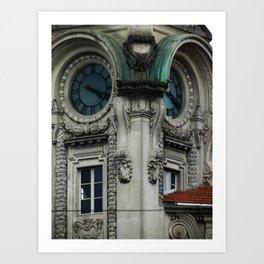 Bolsa do Café Art Print