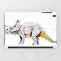 dino iPad Cases featuring Dino by Rocío Gómez