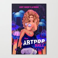 Welcome to the artRAVE! Canvas Print
