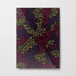 Contemporary Street Art KH Color #G6M Metal Print