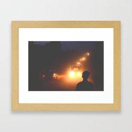 Dusty Road Framed Art Print