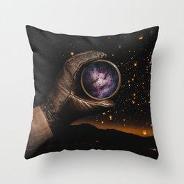 A piece of The Milky Way by GEN Z Throw Pillow