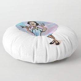 Katherine Johnson Floor Pillow