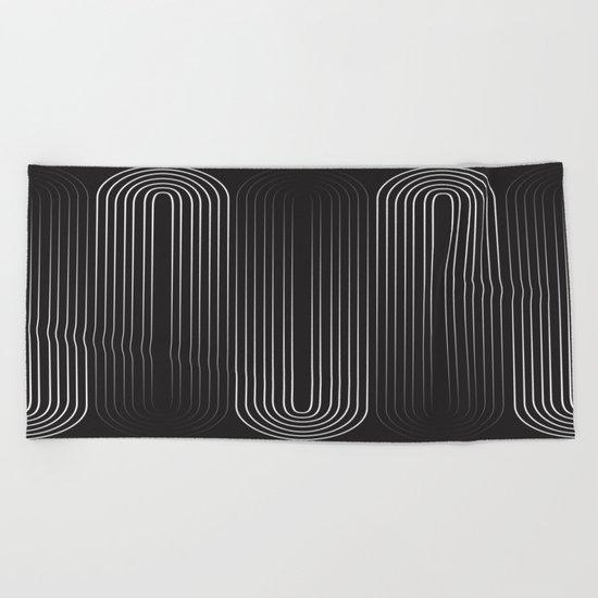 Upside Down Beach Towel